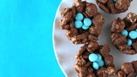 No-Bake Chocolate Chex Mix™ Popped Nests