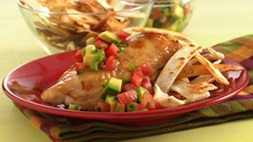 Balsamic Grilled Chicken with Fresh Tomato Salsa