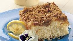 Overnight Lemon Country Coffee Cake