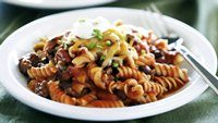 Skinny Mexican Ground Beef and Noodles