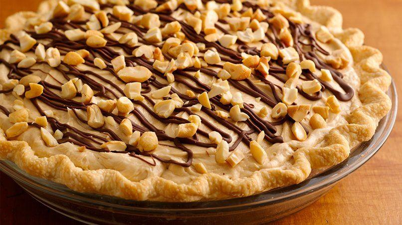 Creamy Cashew Turtle Pie