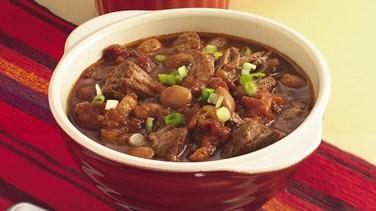 Slow-Cooker Texas Two-Meat Chili