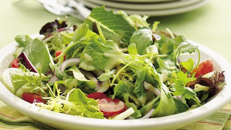 Mixed Green Salad with Dijon Vinaigrette