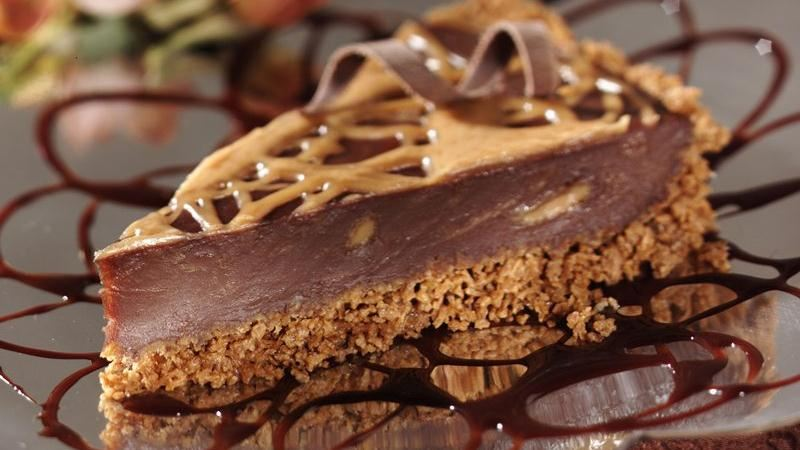 Chocolate-Peanut Butter Pie recipe from Betty Crocker