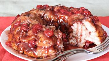 Cherry-Marshmallow Monkey Bread