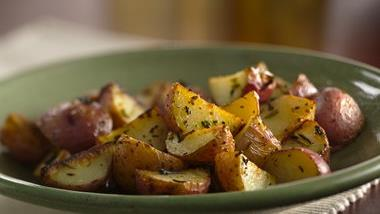 Grilled Herbed New Potatoes