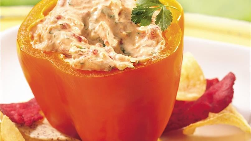 Roasted Red Pepper and Artichoke Dip