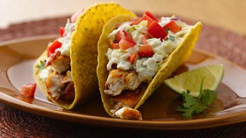 12 recipes that will make you want to eat more fish for Spicy fish taco sauce