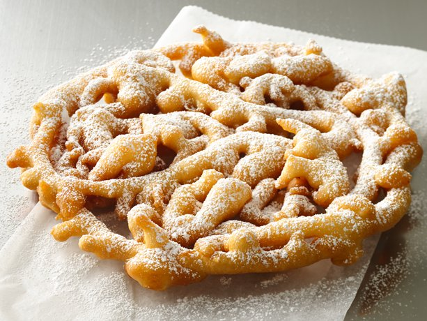 Homemade Funnel Cake With Pancake Mix