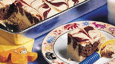 Peanut Butter Marble Cake