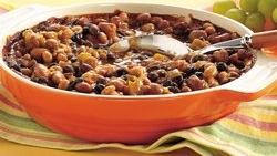 Slow-Cooker 4-Can Baked Beans