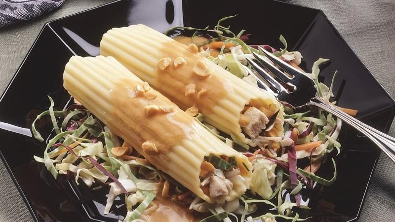 Asian Chicken Manicotti Salad