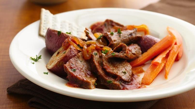 Braised Brisket of Beef