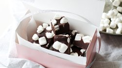 Marshmallow Hot Chocolate Truffles
