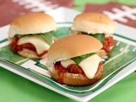 Mamma's Meatball Parmesan Sliders