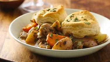 Spicy Pork Chimichurri-Style Casserole