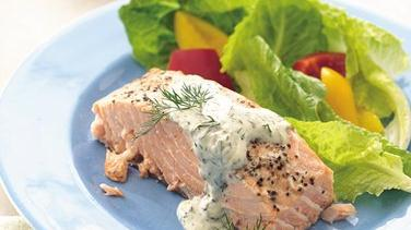 Grilled Dill Salmon