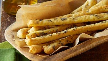 Gluten-Free Garlic Herb Breadsticks