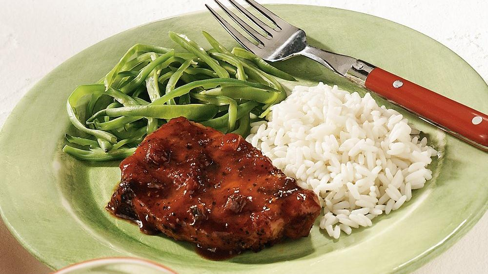 Zesty Skillet Pork Chops