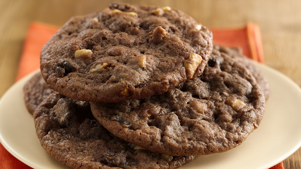 Orange Chocolate Date Cookies