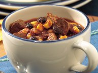 Slow-Cooker Spicy Southwest Beef and Bean Chili
