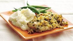 Herbed Mustard-Coated Chicken