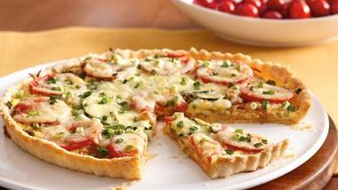 Tomato and Onion Tart