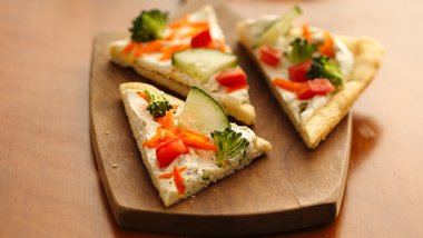 Easy Crescent Veggie Pizza (club store pack)
