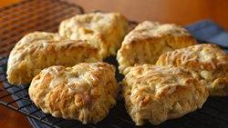 Tropical Island Scones