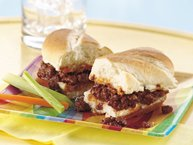 Slow-Cooker Smoky Barbecue Beef Sandwiches