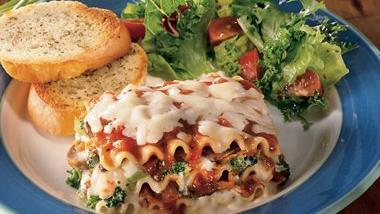 Mushroom and Vegetable Lasagna