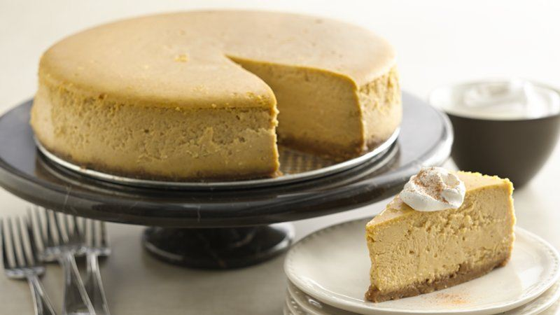 Pumpkin Cheesecake recipe from Betty Crocker