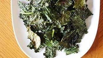 Baked Chipotle Kale Chips