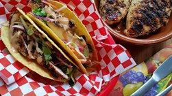 Tacos Crujientes de Pollo Asado