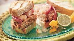 Caribbean Pork Burgers