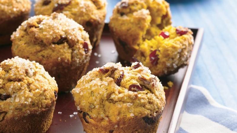 Pumpkin-Cranberry Muffins
