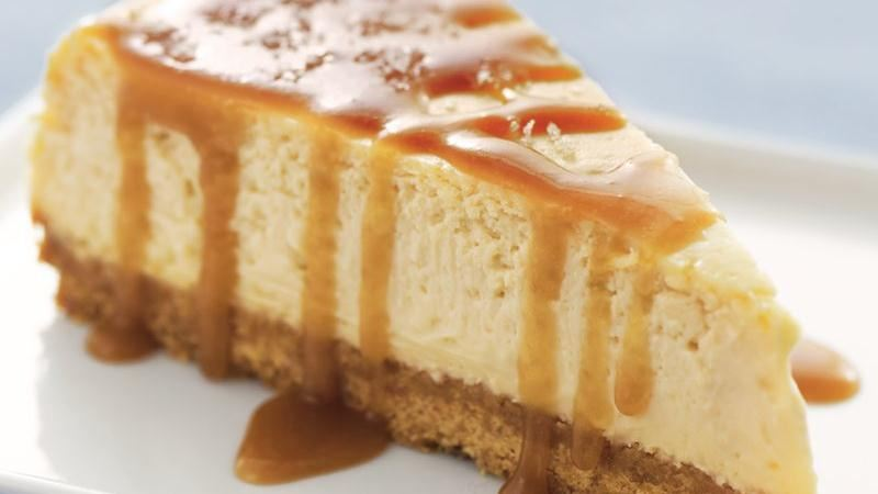 Salted Caramel Cheesecake