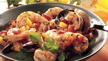 Southwestern Stir-Fried Shrimp