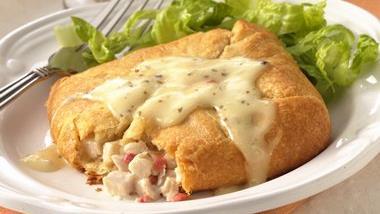 Caesar Chicken Salad Squares