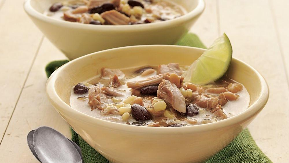 Red and White Turkey Chili