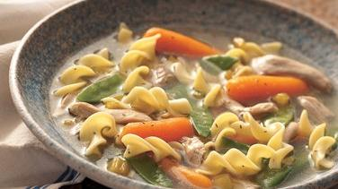 Slow-Cooker Hearty Chicken and Noodle Soup