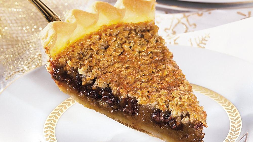 Chocolate, Coffee and Oatmeal Pie