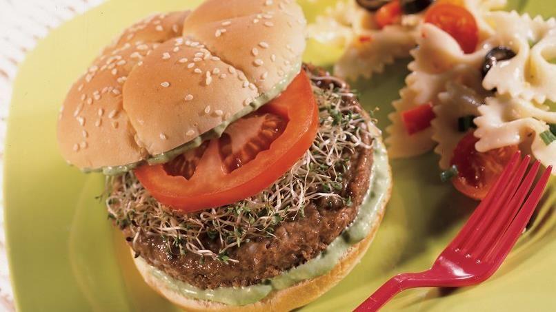 California Vegetable Burgers