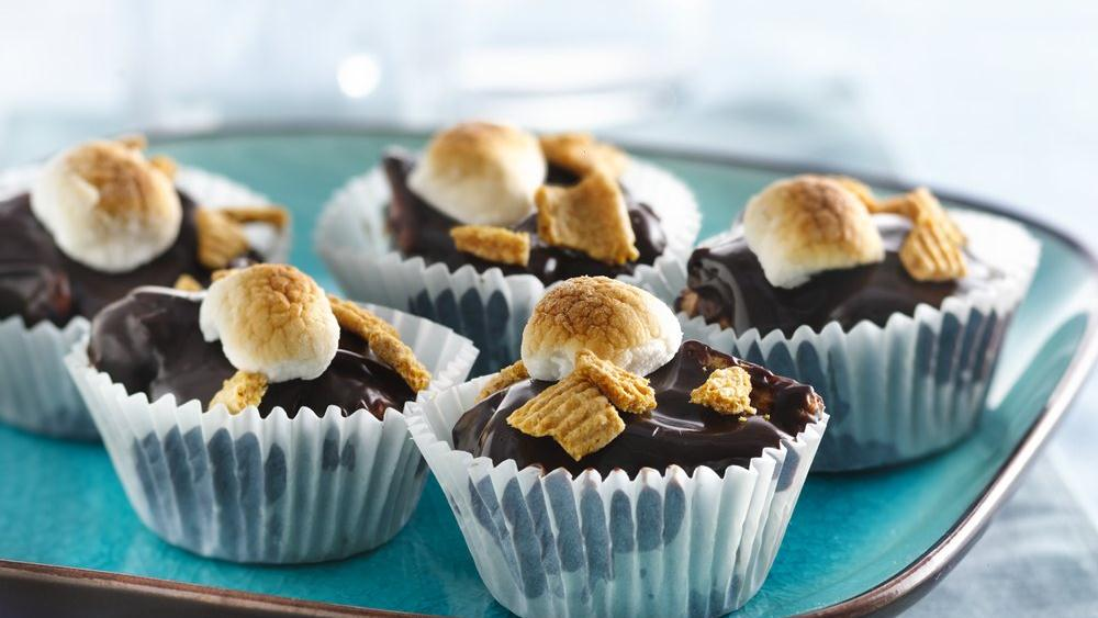 No-Bake S'mores Cups