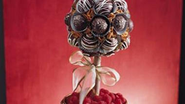 Chocolate Truffles Topiary