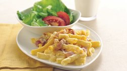 Ham and Cheese Ziti
