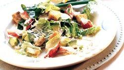 Seafood Caesar Salad