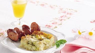Basil Breakfast Strata