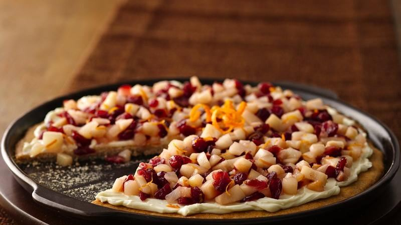 fruit pizza recipe healthy pear fruit