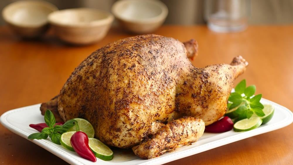 Oven-Roasted Spice-Rubbed Turkey recipe from Pillsbury.com